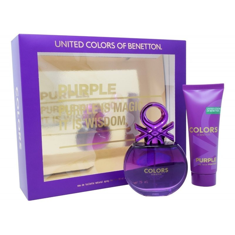 Benetton Colors Purple 80ml Mas Body Lotion