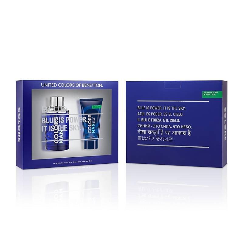 Benetton Colors Blue Man 100ml Mas After Shave