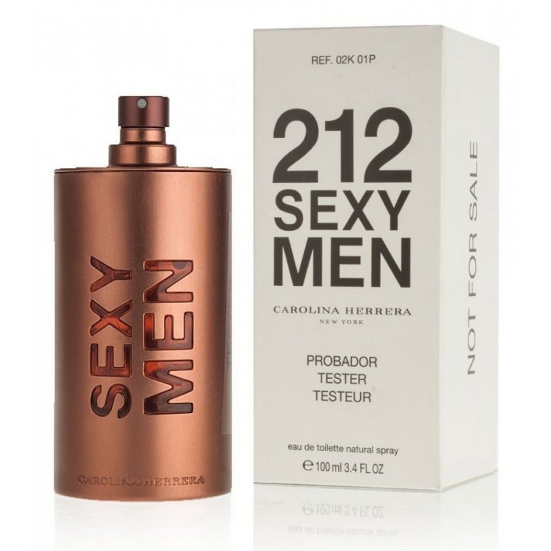 212 Sexy Men 100 Tester
