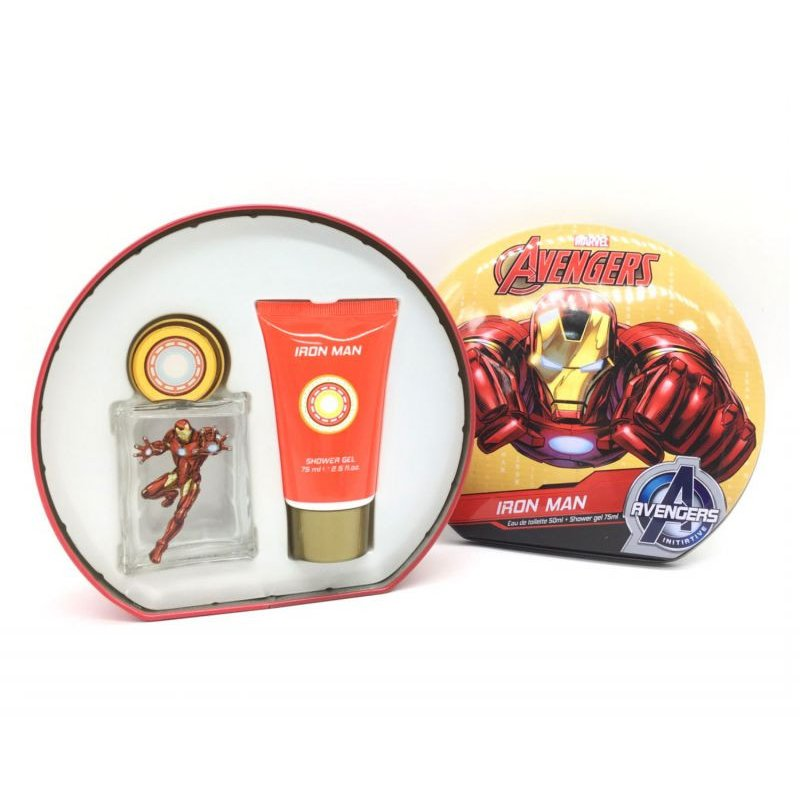 Iron Man 50ml Mas Shower Gel 75ml Set