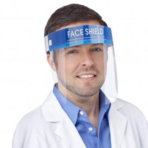 Escudo Facial Certificado Ce Importado