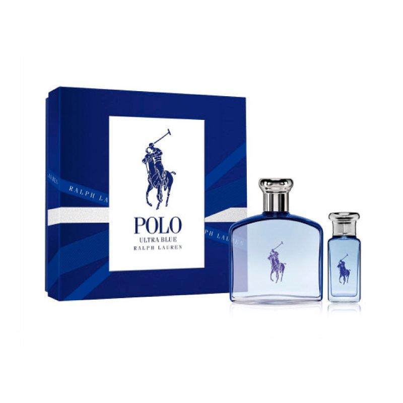 Polo Ultra Blue 125Ml Edt Mas 30Ml Set