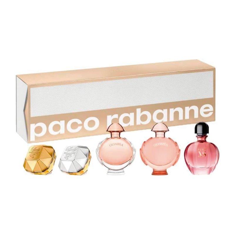 Paco Rabanne Set Miniaturas 5 X 6Ml Dama