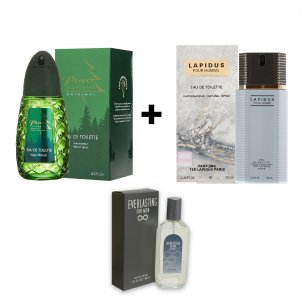 Pino Silvestre 125Ml + Lapidus 100Ml Varon (Un American Collection 80Ml De Regalo)